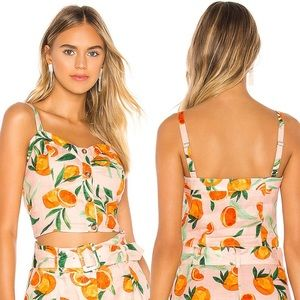 NWT Parker Katarina Clementina Citrus Crop…